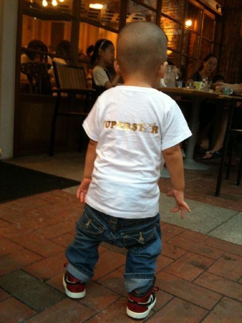 Jinusean's Sean Tweets His Son's Hip Hop Look