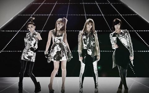 2NE1 Spotted on Billboard in California