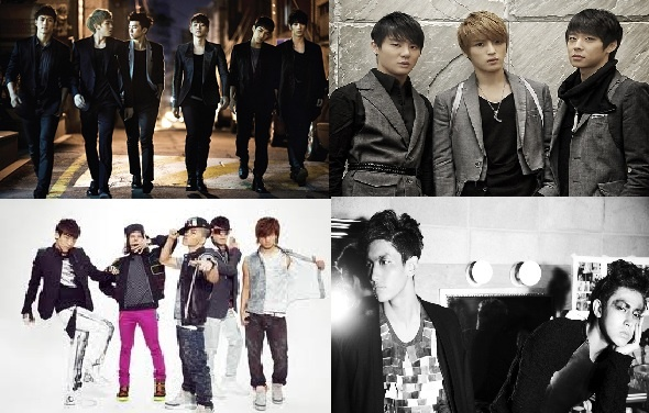 Full List of New Male Idol Groups Rumored to Debut in 2012