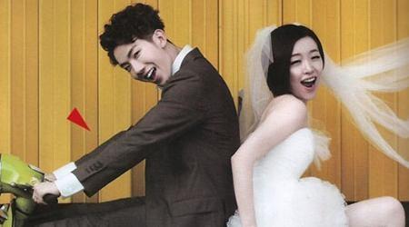 Jo Kwon & Ga In Wedding Photoshoot