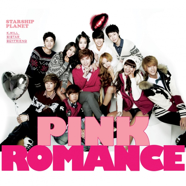 "Starship Planet Releases ""Pink Romance"" MV"