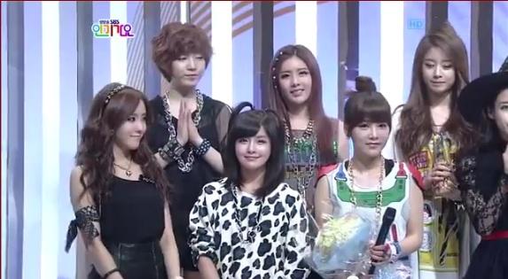 SBS Inkigayo 01.29.2012