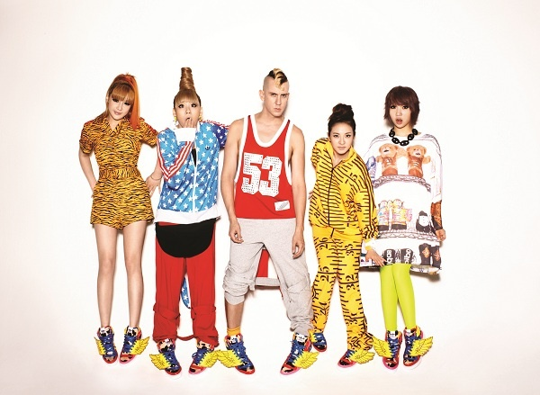 2NE1 and Jeremy Scott Release New Collaboration Shoes