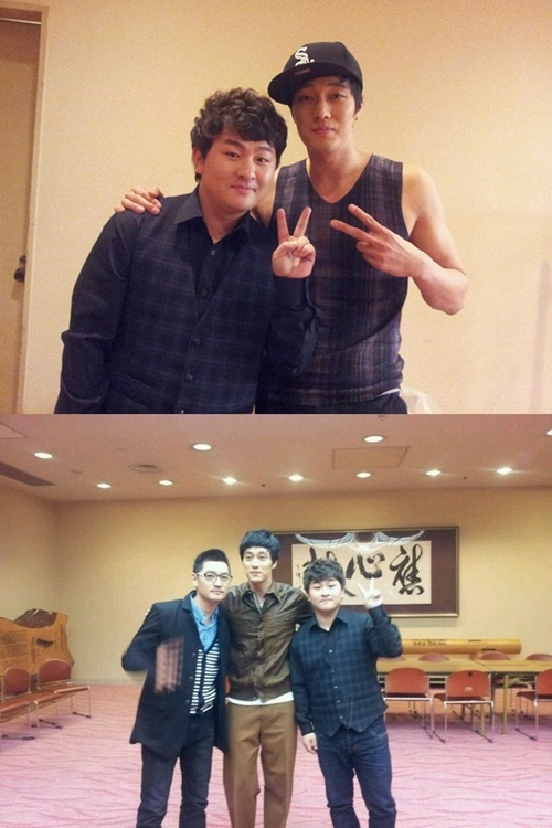 Huh Gak Meets So Ji Sub and Bobby Kim in Japan