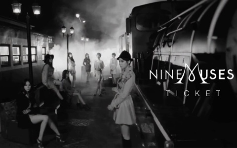 """Nine Muses Release Music Video for """"Ticket"""""""