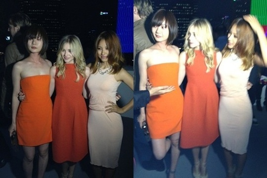 Lee Hyori's Recent Photo with Chloe Moretz Garners Attention