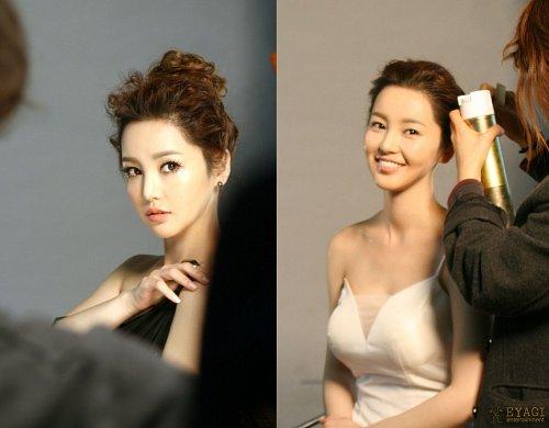 Nam Gyu Ri: Two-Faced in CF Shoot