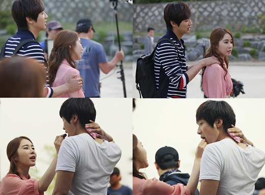 Yoo In Na and Ji Hyun Woo Looking Like a Real Couple?