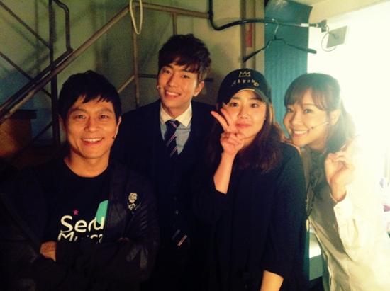 Moon Geun Young's Recent Photo with Actress So Yoo Jin