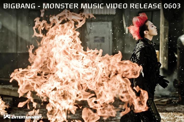 "Big Bang Releases Flaming G-Dragon Teaser for New Album ""Still Alive"""