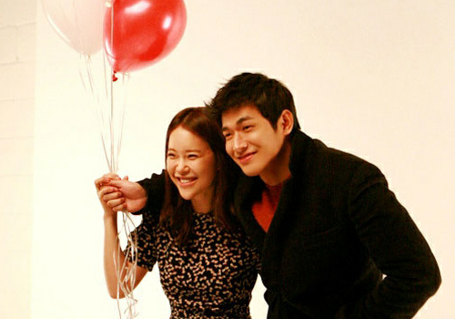Baek Ji Young and Jung Suk Won