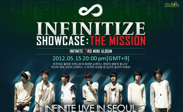 "Infinite's Showcase ""The Mission"" to be Released in Japan as DVD"
