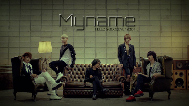 MYname - Hello and Goodbye