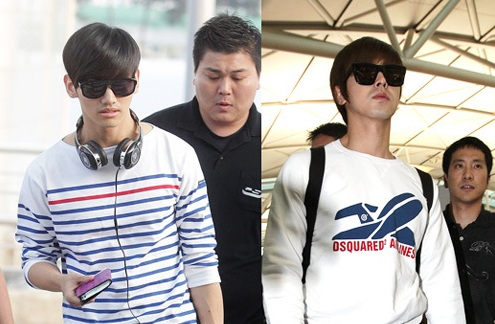 Recent Airport Fashion of DBSK and Super Junior