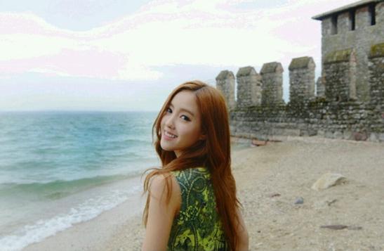 Hyomin Is a Beach Goddess