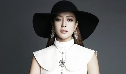 "Kim Hee Sun for ""Bazaar"""