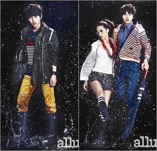 Song Joong Ki's Rain Look Fashion for Allure Magazine