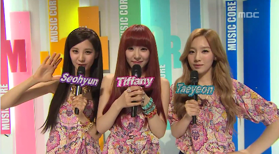 TaeTiSeo - MBC Music Core 05.19.12