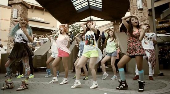 Wonder Girls Make Their Comeback Performances on Inkigayo