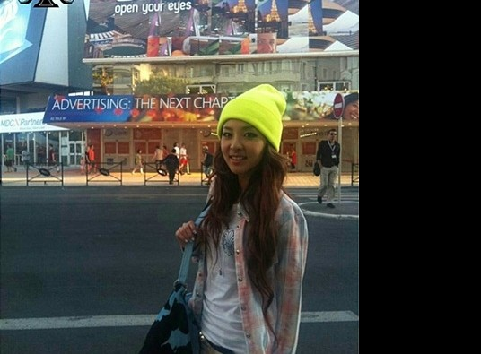2NE1's Sandara Park Fashionable in France