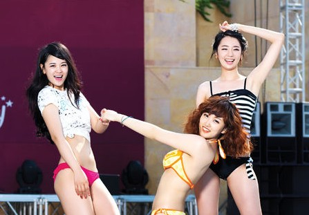 "New Girl Group ""BIKINY"" Poses in Bikinis for Maxim"