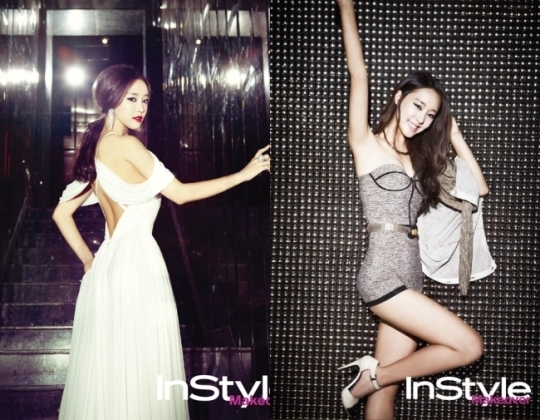 "Rainbow's Go Woo Ri Featured in ""InStyle"" Magazine"