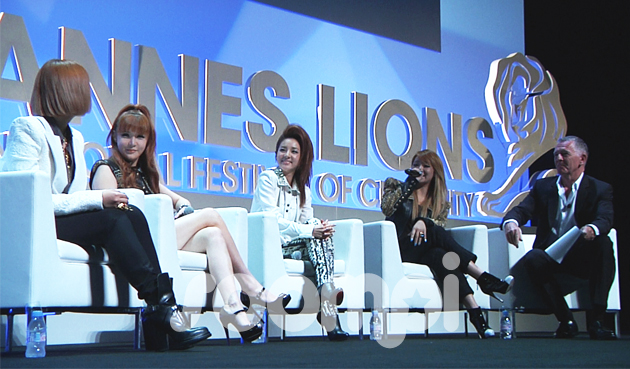 [Exclusive] Soompi Footage of 2NE1 and Blackjacks at the CANNES LIONS