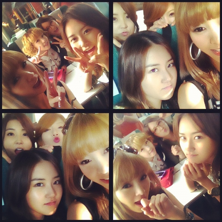4minute and G.NA Go on a Train Trip Together
