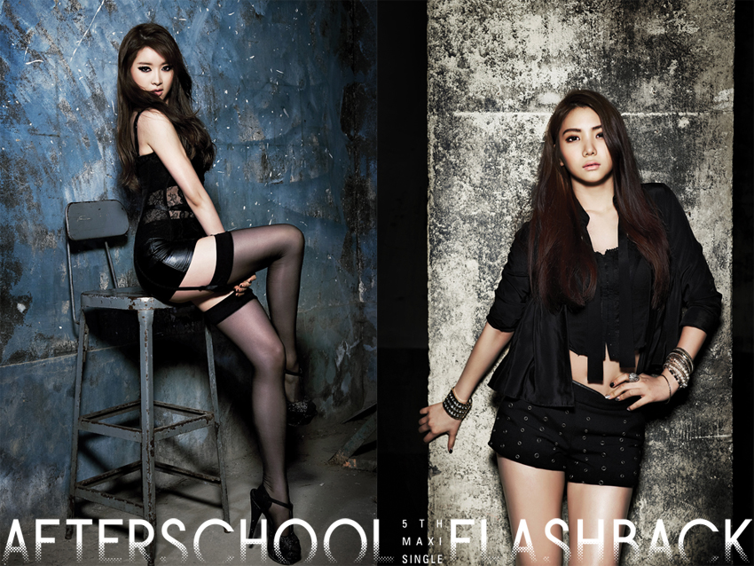 "After School Releases ""Flashback"" Teaser Images for Jooyeon, E-Young and Ka Eun"