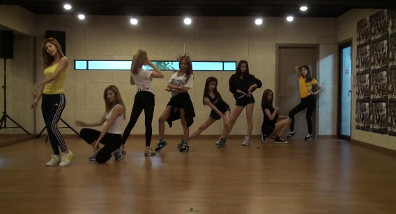"After School Reveals Dance Practice Video for ""Flashback"""