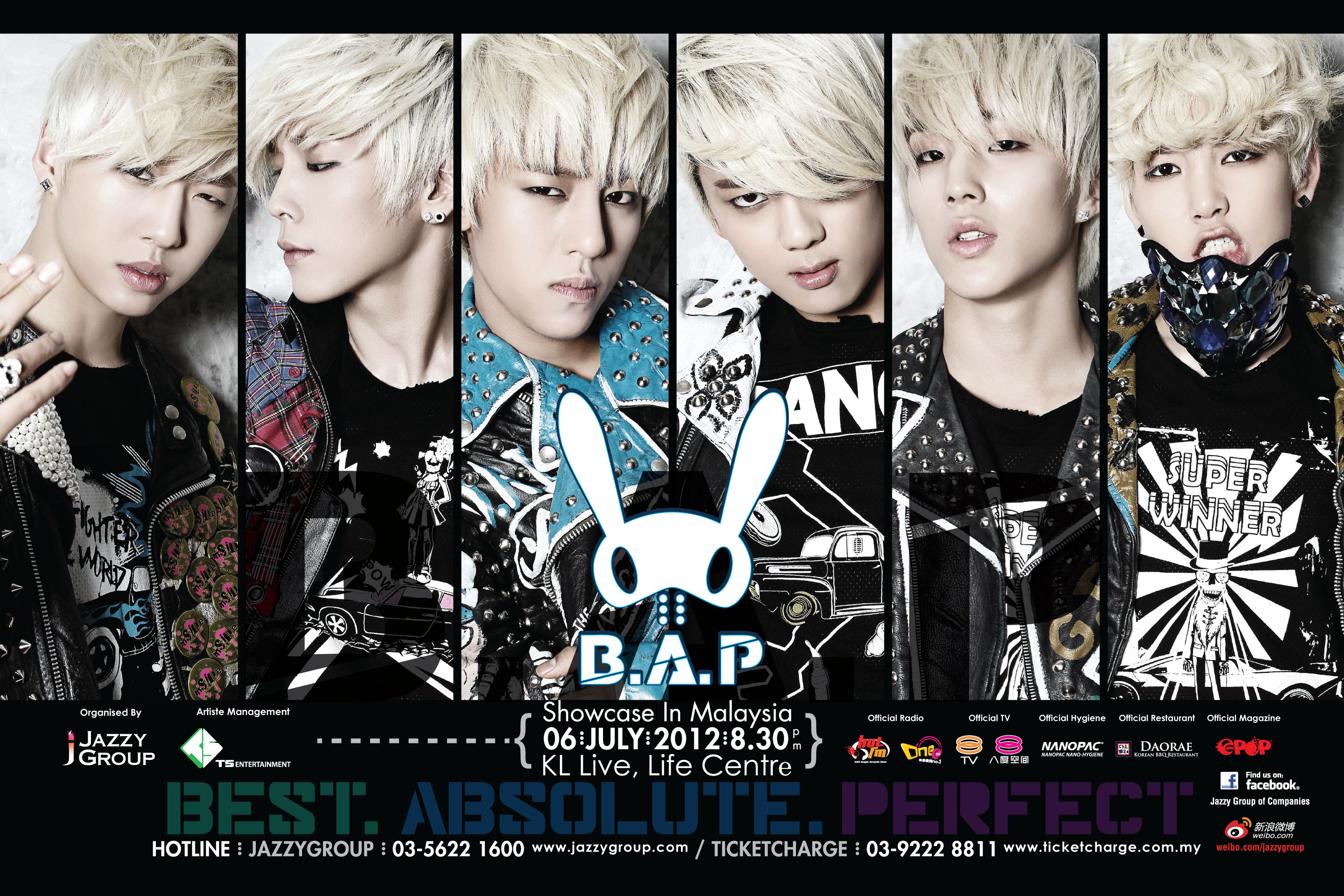 B.A.P To Hold First Showcase in Malaysia