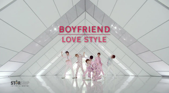 "Boyfriend Releases Music Video for ""Love Style"""