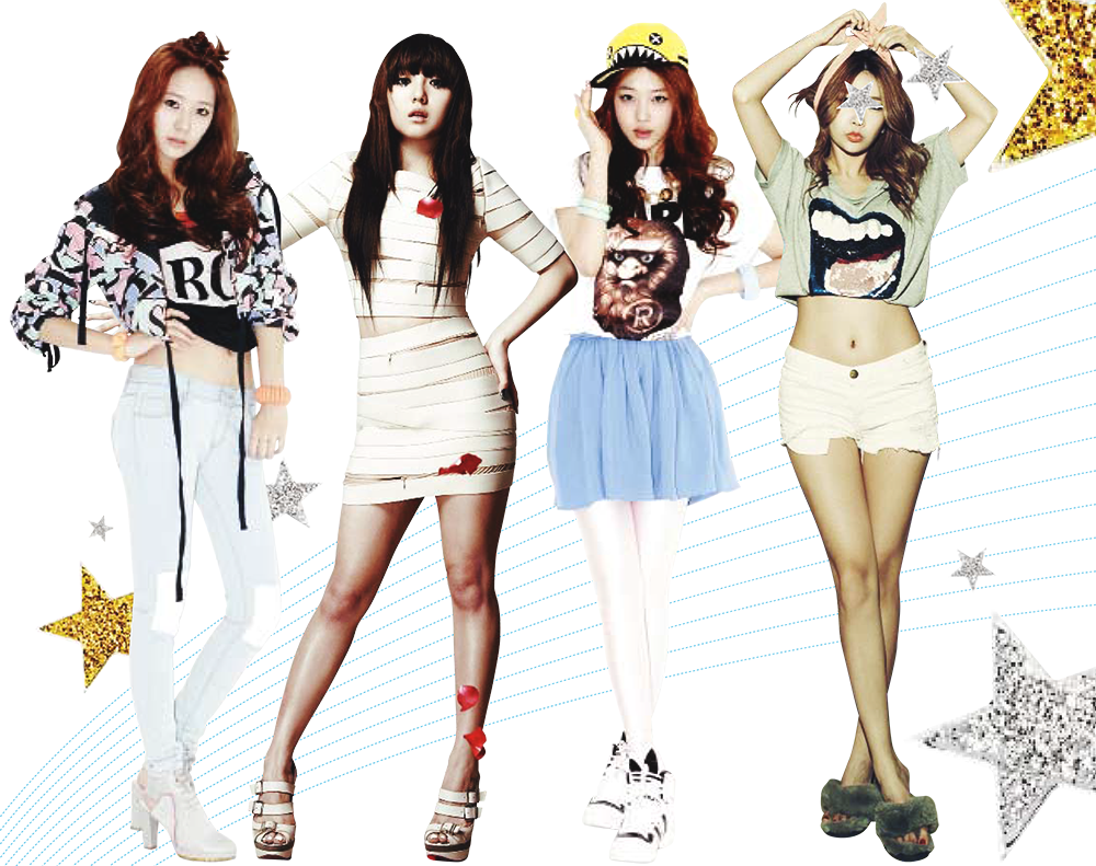 [Ceci] Body Paparazzi Part 1: The Secret to Girl Groups' Legs!