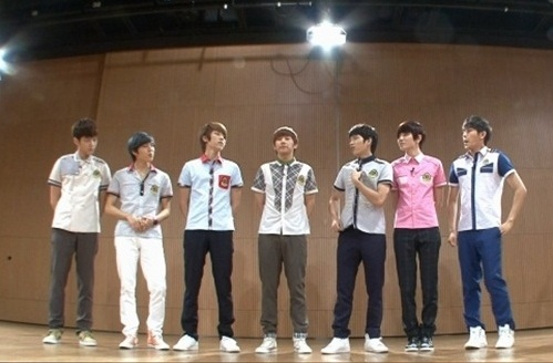 """Infinte Transforms into """"Boys Over Flowers"""" F4"""