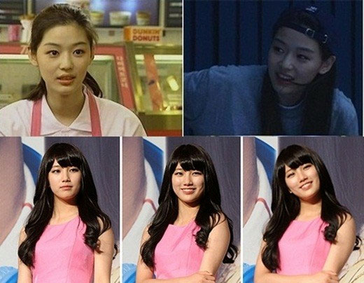 Jeon Ji Hyun and miss A Suzy's Innocent Beauty at the Age of Nineteen