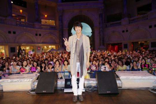 Kim Bum Finishes Successful Japanese Album Launch Event
