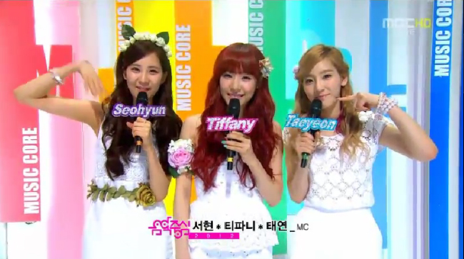 MBC Music Core Performances 06.09.12