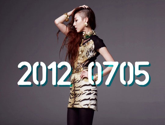 2NE1's New Album Set for July 5 and Look at Sandara Park's Half Shaved Head!