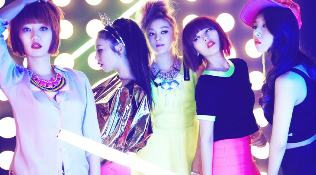 The Wonder Girls Reveal Their Ideal Types