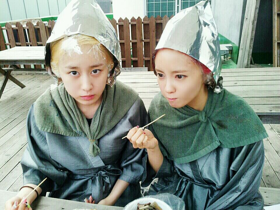 T-ara's Hyomin and Jiyeon Transform Into Aliens