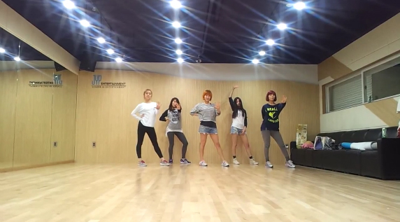"""Wonder Girls Release Dance Practice Video for """"Like This"""""""