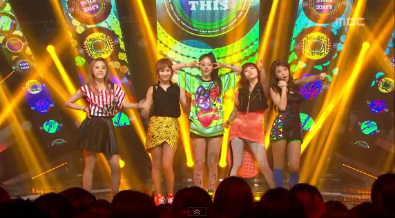 "Wonder Girls Perform ""Like This"" on Music Core"
