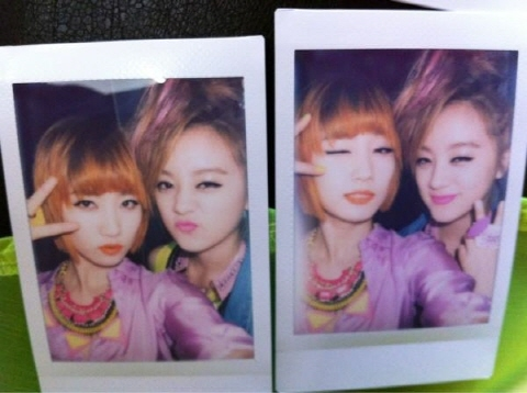 Wonder Girls' Lim Looks Like 2NE1's Dara in Latest Polaroid Picture With Yenny