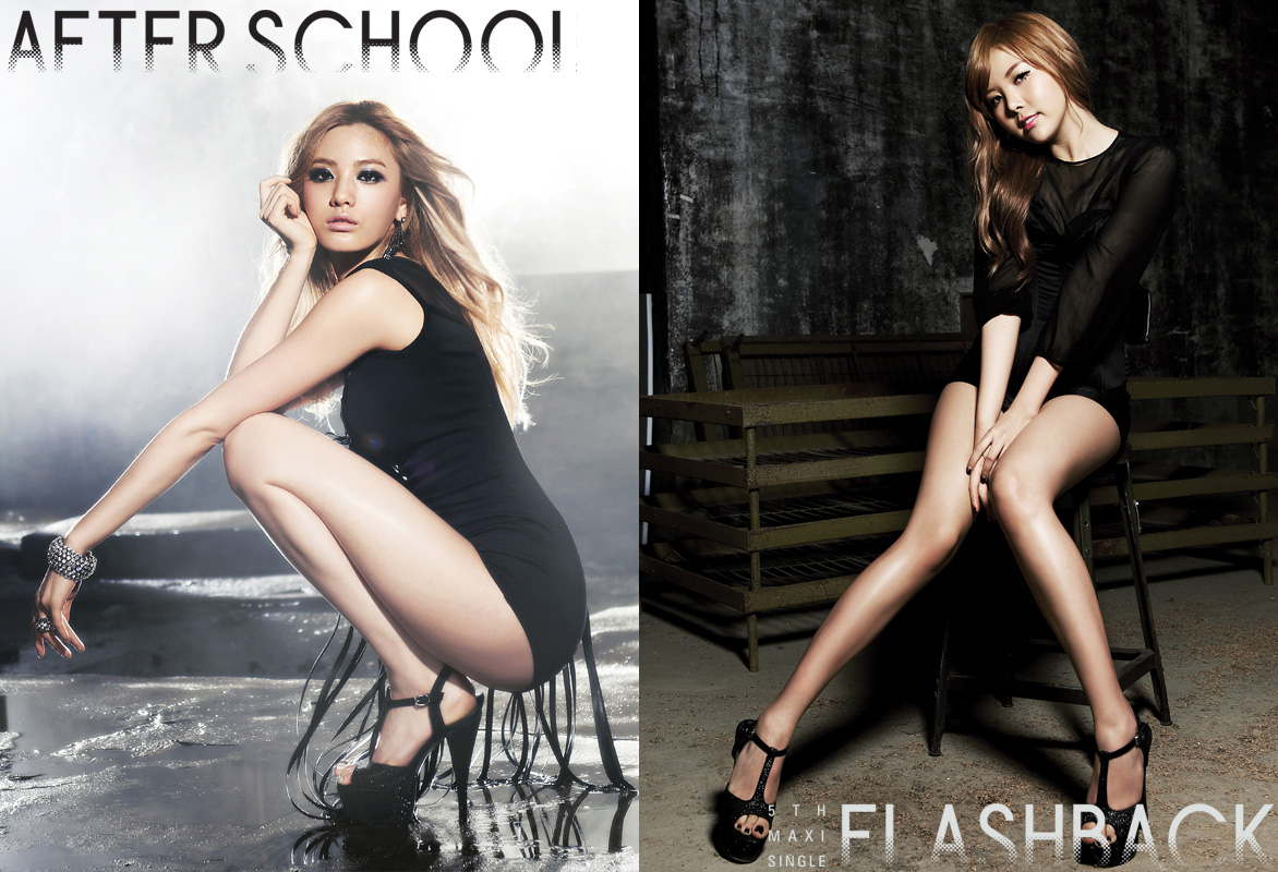 Temperatures Rise with After School's New Teaser Images for Nana and Raina