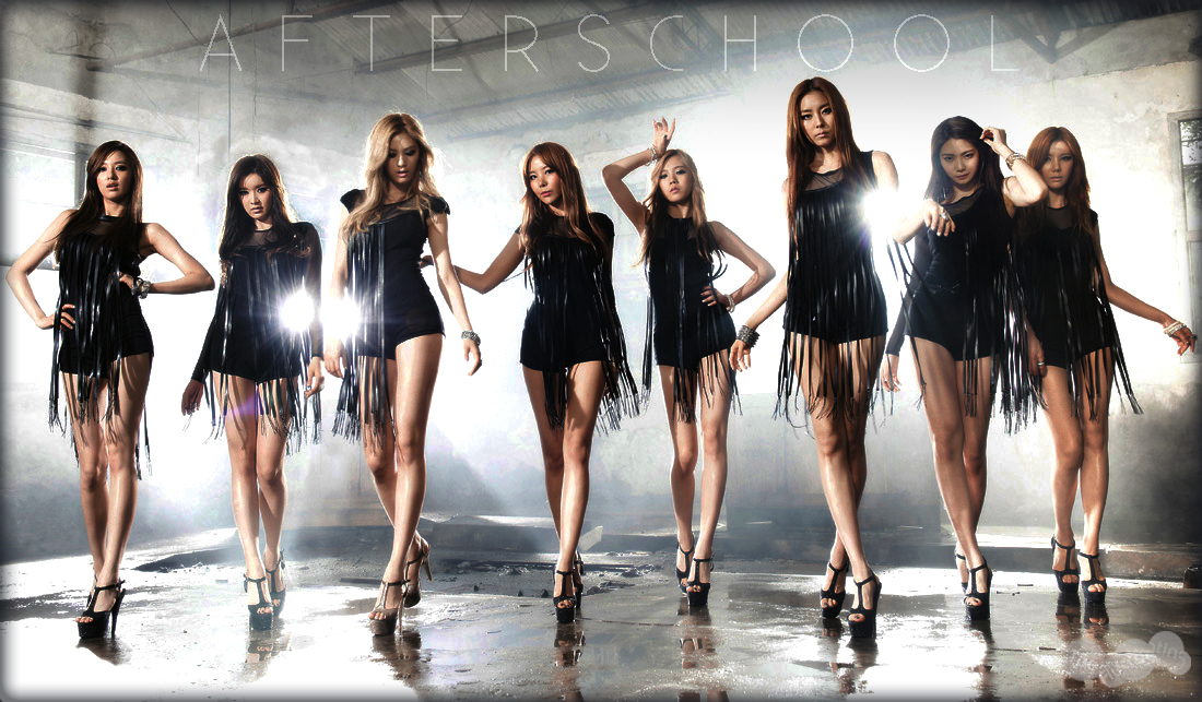 "After School's Teaser Group Shot for ""Flashback"" Brings Speculations for New Leader"