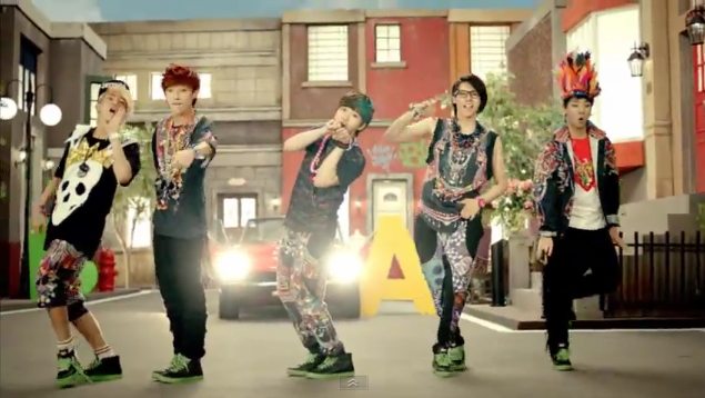 "B1A4 Releases Japanese Debut MV for ""Beautiful Target"""