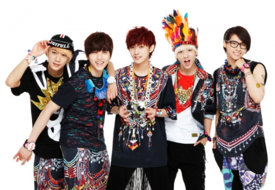 B1A4 Lands at No. 4 Spot on Oricon Charts