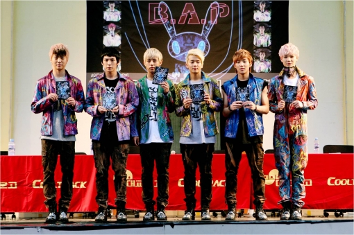 B.A.P to Embark on Asian Showcase