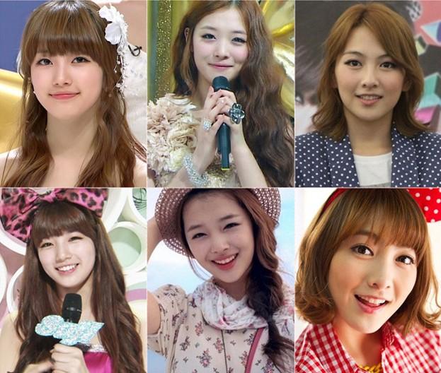 "Suzy, Sulli, Kang Ji Young are the Top 3 ""Big-Sized Female Idols"""