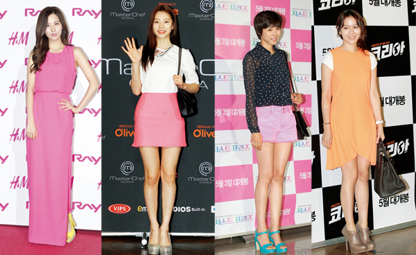 [Ceci] Celebs Stun in Colorful Attire, ft. Girls' Generation's Seohyun, Lee Hyori, and More